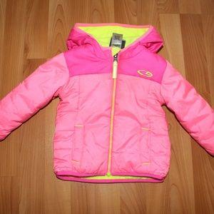C9 Champion Girls 12M Pink Venture Puffer Jacket